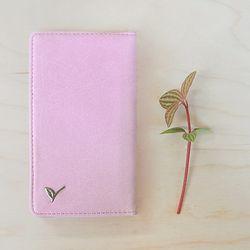 VG-SMART PHONE POCKET 1 -pink cabbage