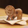 [아프리카숲] 솝스톤 미니 사자 조각