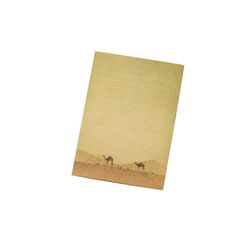 with earth card-camel