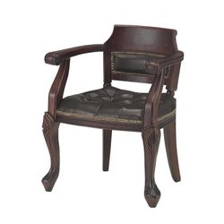 [체어우드] 엔듀 394 사각 가죽 원목 의자 (착불) 국내제조 인기상품