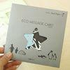 ECO MESSAGE CARD-PENGUIN