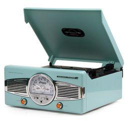 클래식 턴테이블&라디오-sky blue