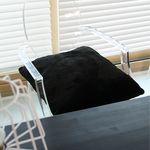 furry쿠션-블랙 (60x60)