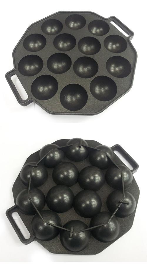타코야끼팬- 14구 원형 - 이홈베이킹, 19,000원, 홈베이킹, 모양틀/몰드