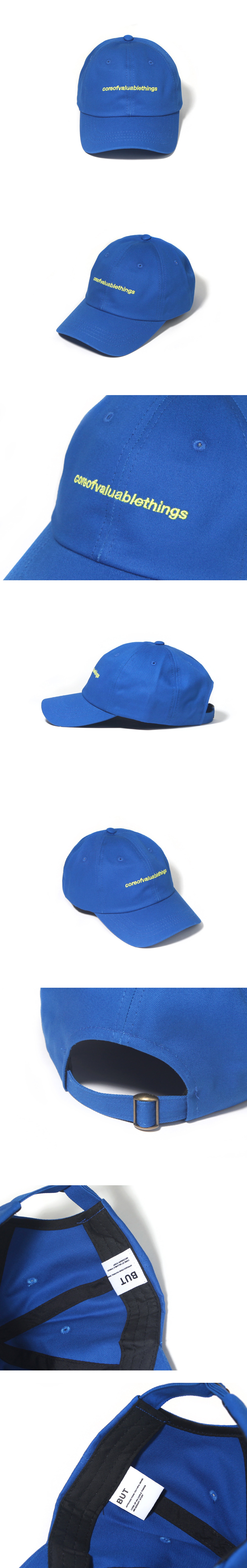 N CORE CURVED CAP-COBALT BLUE