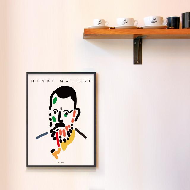유니크 인테리어 디자인 포스터 M 자화상 앙리 마티스 - 모노하, 14,800원, 홈갤러리, 포스터