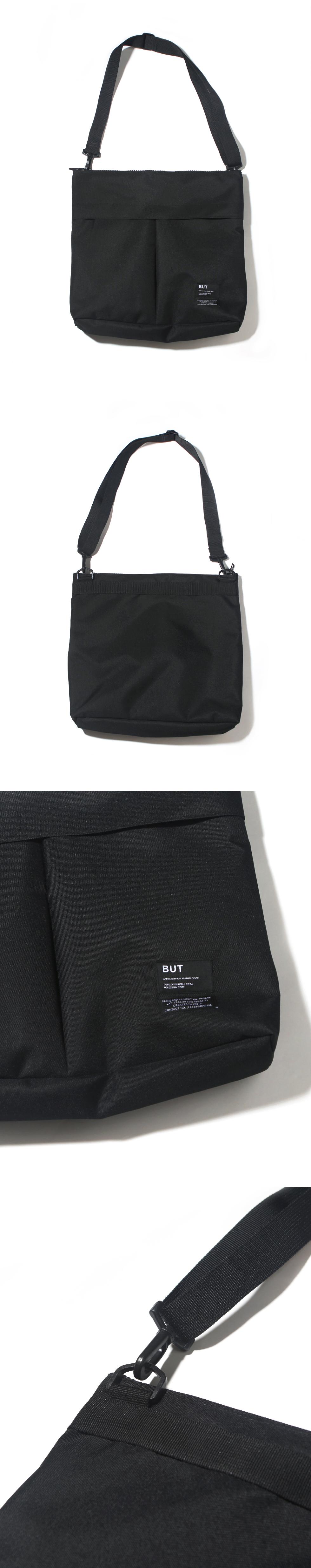 2PK TEXTBOOK BAG-BLACK
