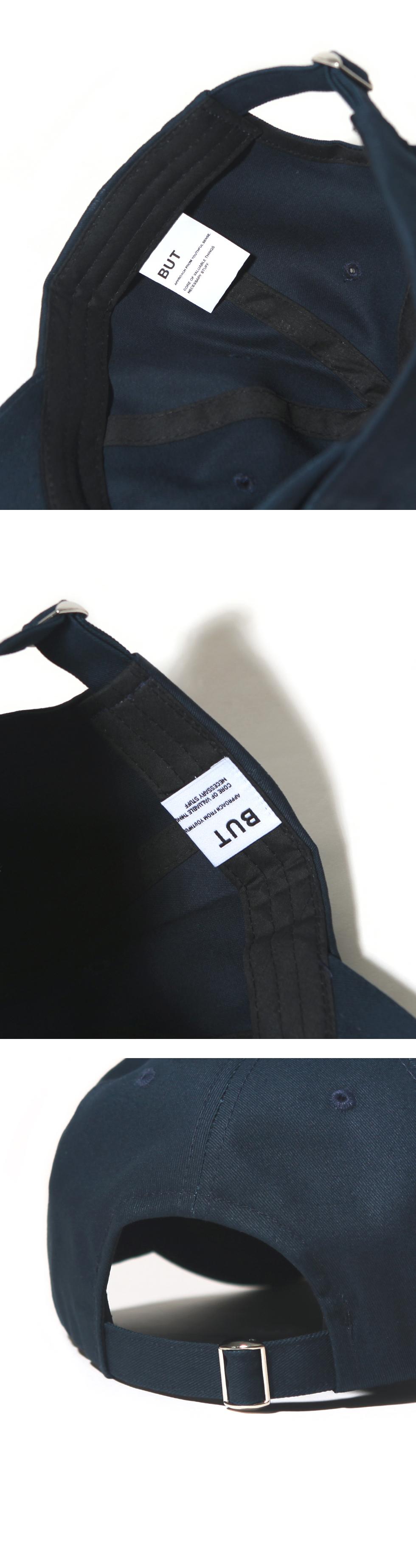 OVAL CURVED CAP-NAVY 9/16 예약배송