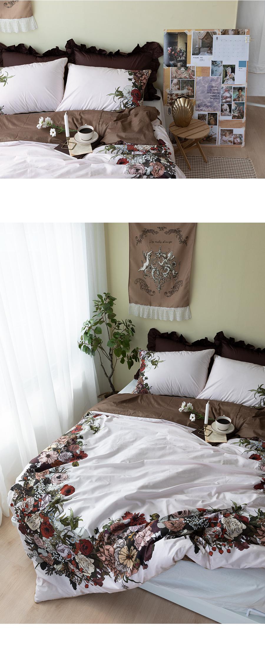 플로르메종 자체제작 3size 호텔침구 사계절이불세트 - 에이미루시, 139,000원, 퀸/킹침구세트, 러블리/플라워