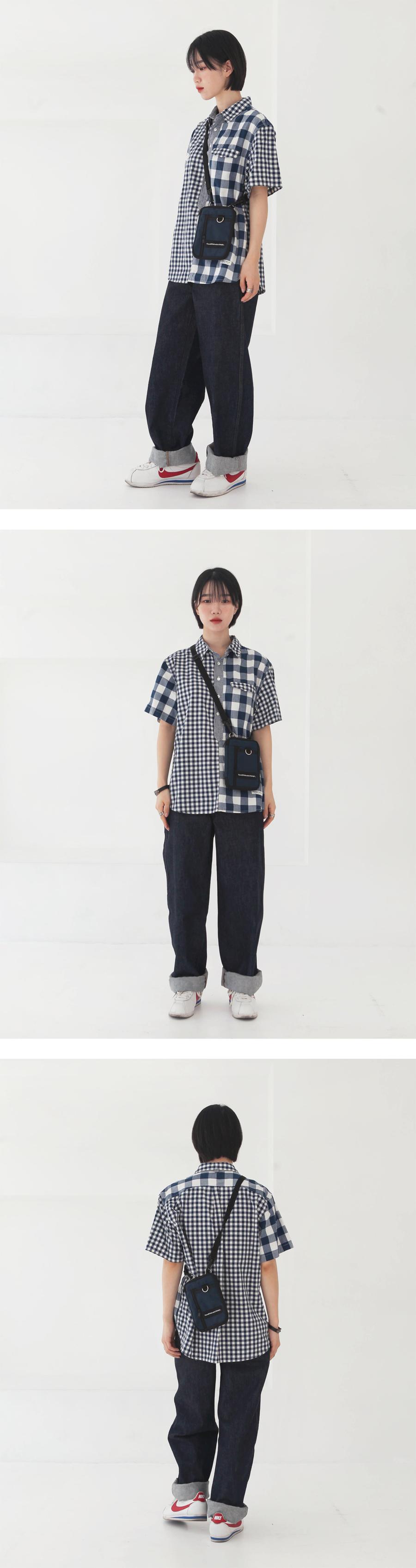 코듀라 나일론 월렛백-미드 네이비