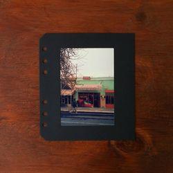 4x6 포트폴리오 (리필용 속지-블랙)
