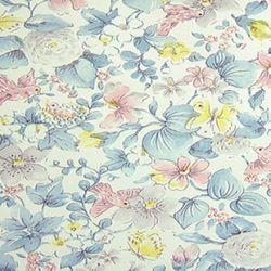 꽃무늬시트 AO-10 블루화원 (1M)