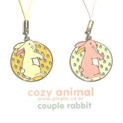 Cozy Animal Couple-Rabbit