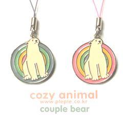 Cozy Animal Couple-Bear