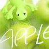 도마뱀 차량용 방향제 - 그린 애플