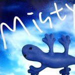 도마뱀 차량용 방향제 - 블루 미스티