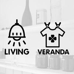 Life sticker 리빙 & 베란다