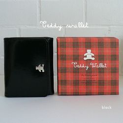 teddy wallet-black