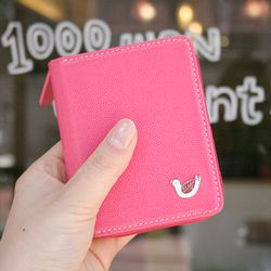 hey jude mini wallet - pink