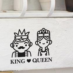 Life sticker-킹 & 퀸