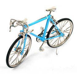 레이싱 자전거 미니어쳐 - 스카이블루