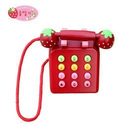 [들딸기]칼라 전화기 소꿉놀이