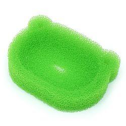 개구리 비누받침 스펀지