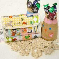 ECOUTE 카드 지갑 (일본직수입)