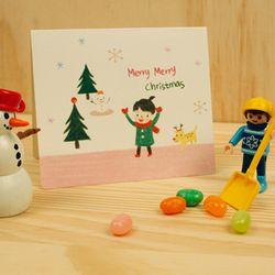 2700 크리스마스 카드 세트-은정