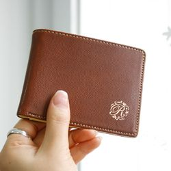 classical money pocket - brown