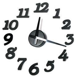 심플 DIY 시계 - 블랙