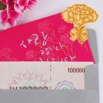 핑크 카네이션 - 전자파차단스티커 카드
