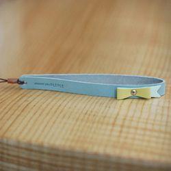 Lovely Ribbon Strap-Baby blue
