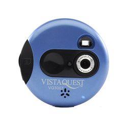 비스타퀘스트 디지털 토이카메라 VQ3007 블루 (SD 메모리사용)