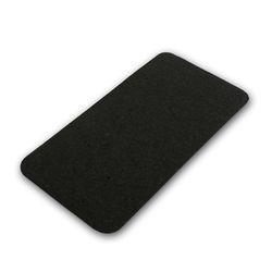 고무매트 - 스키니 사각 매트-블랙 (M1270)