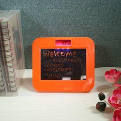 메세지보드 알람시계 - 오렌지