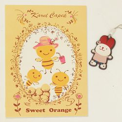 Karel capek sweet orange 엽서