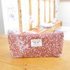 flower rain pen pouch v.2 -deep pink