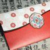 돈봉투-전통문양(다홍)