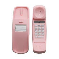 [해외]아날로그 핑크 벽걸이 전화기