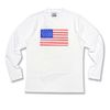[정품] 알슨 긴팔 15110 American Flag LS TEE (WHITE)