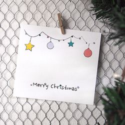 크리스마스 카드 - 크리스마스