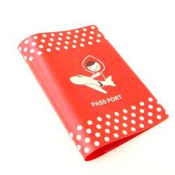 Decole 빨간망토 여권커버 - 일본직수입
