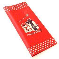Decole 빨간망토 여권 티켓 커버 - 일본직수입