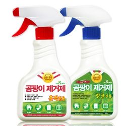 집안곰팡이 완벽제거 (흔적전용 스프레이 1개+항균전용 스프레이 1개)