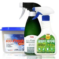 곰팡이&습기완벽제거 (항균전용 1+곰팡이차단 1+습기제거제 1)
