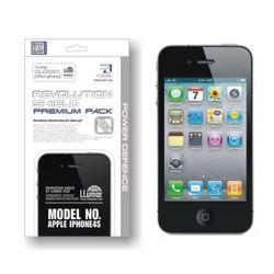 레볼루션쉴드 프리미엄팩 애플 아이폰4S 전용 최고급 전신보호필름