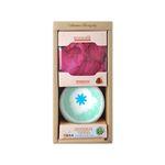 페퍼민트 커플 버블볼 대용량(180g)+입욕꽃잎 SET