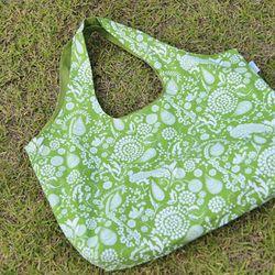 에코백 - Apple green