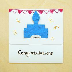 [클리어런스] SEED CARD - Congratulations